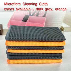 1 X Microfiber Towel Car Cleaning Wash Polishing Detailing Cloth No Scratch Rag