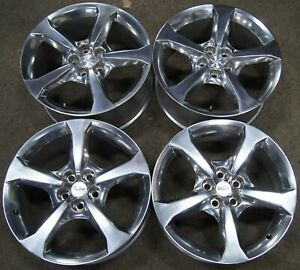 4 Chevy Camaro 20 Factory Oem Polished Wheels Rims 5578 5583 1839 2010 15