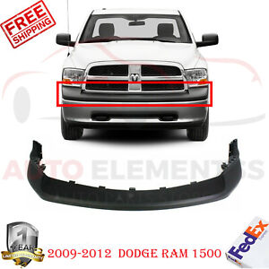 Front Bumper Upper Cover Textured For 2009 2012 Dodge Ram 1500 68034055aa