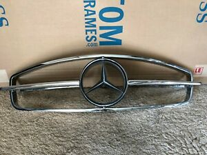 Very Nice Mercedes W121 121 190sl Complete Grill Assembly With Star