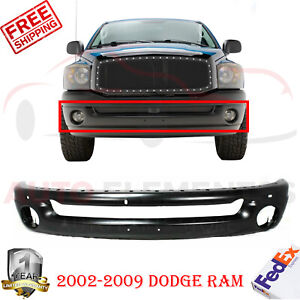Front Bumper Primed Steel For Dodge Ram 1500 2002 2008 Ram 2500 3500 2003 2009
