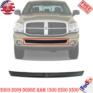Front Bumper Inner Filler W O Tow Hook Holes For 2003 2009 Dodge Ram