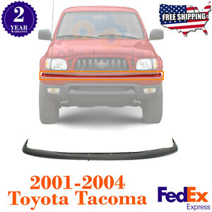 Front Bumper Filler Primed For 2001 2004 Toyota Tacoma Truck To1087112