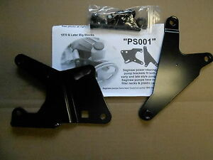 Mopar Big Block Saginaw Power Steering Pump Brackets New