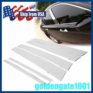 Us Stainless Steel Window Pillar Post Cover For 2008 2012 Honda Accord Sedan Gg