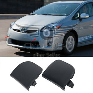 For Toyota Prius 2012 2013 2014 2015 Front Bumper Tow Hook Eye Cap Cover Black