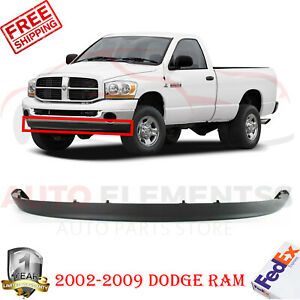 Front Bumper Lower Valance Air Deflector For 2002 2009 Dodge Ram