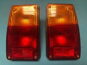 Fiat 128 2p Coupe Sl Altissimo Tail Light Assembly Fanali Posteriore Nos
