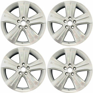 19 Alloy Wheels For 2008 12 Toyota Highlander New Set Of 4 Machined And Silver