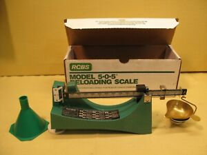 RCBS 09071 Ohaus Model 505 Reloading Powder Scale 5-0-5