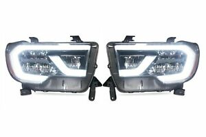 Led Plug Play Headlight Assemblies For 2018 2019 Toyota Sequoia