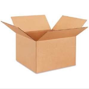 50 12x12x8 Cardboard Paper Boxes Mailing Packing Shipping Box Corrugated Carton