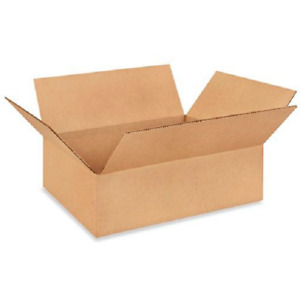 25 14x10x4 Cardboard Paper Boxes Mailing Packing Shipping Box Corrugated Carton