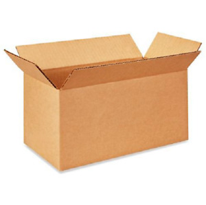 100 12x6x6 Cardboard Paper Boxes Mailing Packing Shipping Box Corrugated Carton