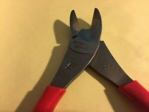 New Snap on 388acf 8 5 High Leverage Diagonal Cutter Red Handle