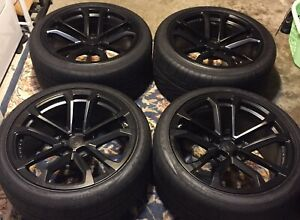 4 20 Oem Chevy Camaro 1le Zl1 Forged Wheels 90 Goodyear F1 Tires Ss Rs Le