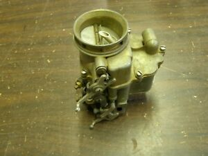 Nos Oem Ford Reman 1949 1953 Carburetor 2v Flat Head V8 1950 1951 1952