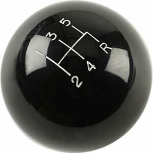 Hurst 1630114 Black Classic Shifter Knob Pattern 5 speed Diameter 2 1 4 Thread