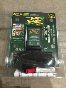 Deltran 12 Volt 750ma Battery Tender Jr Maintainer Motorcycle Charger 0