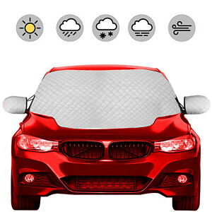 Universal Full Protection Windshield Cover Car Sunshade Anti Snow Winter Folded