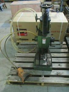 Used Automator Mb35 Adjustable Power Pneumatic Benchtop Marking Machine