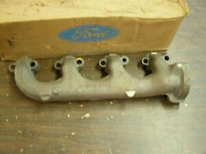 Nos Oem Ford 1964 1970 Mustang Galaxie Fairlane Exhaust Manifold 1965 1966 67
