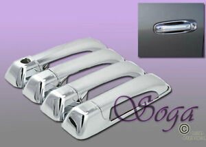 For 2009 2017 Dodge Ram 1500 Overlay Chrome Door Handle Cover Covers 8pcs Us New