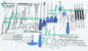 Posterior Thoracolumbar Spine System Can Fix 33 Pcs Full Set By Chaghi Tradres