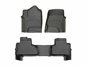 Weathertech 3d Floormats For 2020 Jeep Gladiator 441313 1 4im Full Set