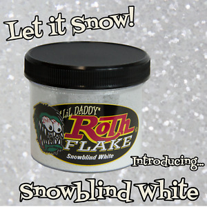 Lil Daddy Roth Metal Flake Snowblind White