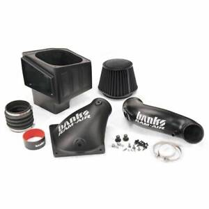 Banks Power Ram Air Intake With Dry Filter For 10 12 Dodge Cummins 6 7l Diesel