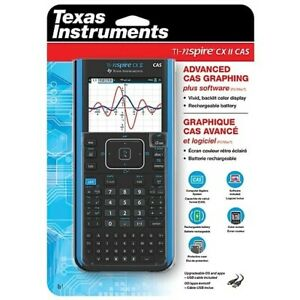 New Ti nspire Cx Ii Cas Advanced Cas Graphing Calculator W Software Sealed