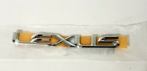 95 00 Lexus Ls400 Chrome Trunk Emblem Rear 1995 1996 1997 1998 1999 2000