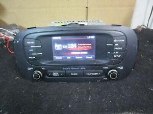 14 15 16 2014 2015 2016 Kia Soul Radio Cd Player Receiver Stereo 96160b2020ca