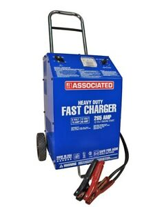 Associated 6009agm 6 12 Volt Battery Charger 70 60 2 Amp Agm 265 Amp Cranking