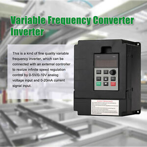 2 2kw 220v Variable Frequency Drive Inverter Single To 3 Phase Cnc Vfd Universal
