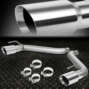 For 16 18 Chevy Camaro 2 0l 3 6l Axle Cat Back Exhaust System W 4 od Muffler Tip