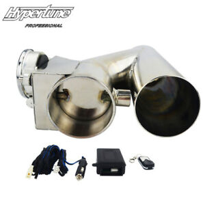 3 Electric Exhaust Downpipe Cutout E Cut Out Valve With Wireless Remote