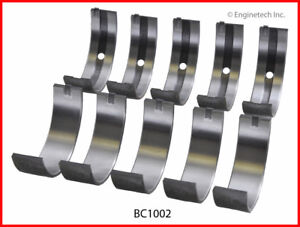 Engine Crankshaft Main Bearing Set Enginetech Inc Bc1002 25