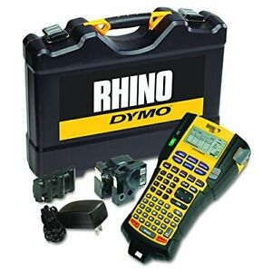 Dymo Rhino 5200 Industrial Label Maker Cary Case Kit With 2 label Maker Kit