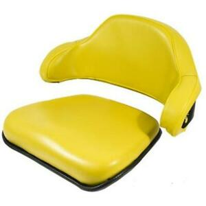 2 Pc Yellow Seat Cushion Set Fits John Deere 1020 1520 1530 2020 Later Models