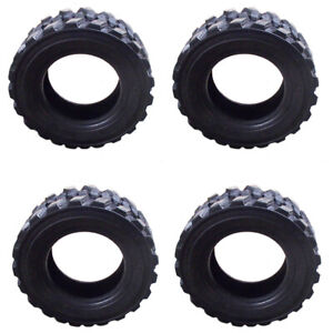 12 X 16 5 Set Of 4 14 ply Skid Steer Tires With Rim Guard For Bobcat