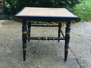 Hitchcock Small Table Bench 9 1 2 In X 14 1 2 In X 18 1 4 Inches