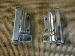 1966 1967 Buick Riviera Gs Rear License Plate Frame Surrounds 5957455 5957456