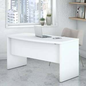 Echo 60w Bow Front Desk From Office By Kathy Ireland Large