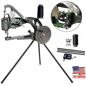 Leather Cobbler Manual Shoe Sewing Machine Cotton Nylon Line Repair Machine New