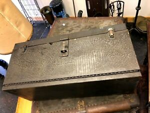 Snap On Tools Small Tool Box 1930 s Or 1940 s Vintage 2 Draws Thick Metal