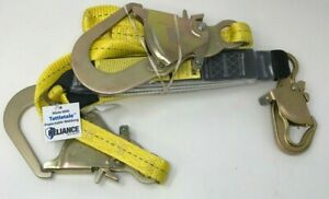 Reliance 741206 6 Ft Polyester Double leg Fat pack Lanyard New Free Shipping