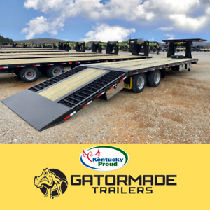 2020 Gatormade 25 10 Gooseneck Hotshot Trailer With Hydraulic Dovetail