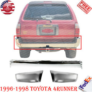 Rear Chrome Bumper Extension Ends For 1996 1998 Toyota 4runner Base Sr5 Model